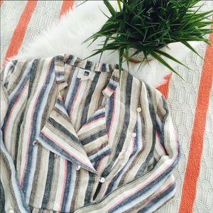 Quicksilver Linen Dress